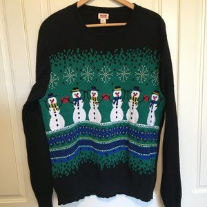 Christmas / holiday pullover sweater men's small